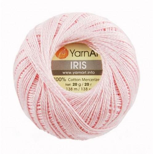 Нитки для вязания YarnArt IRIS нежно-розовый № 914 фото
