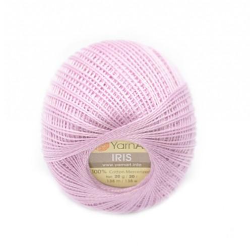Нитки для вязания YarnArt IRIS лиловый №917 фото