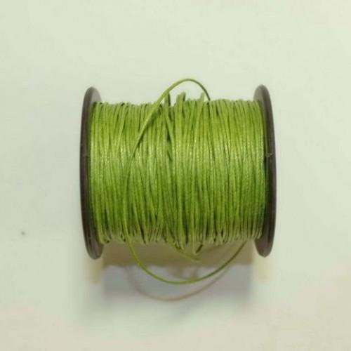 Вощеный шнур травянной, 1 м
