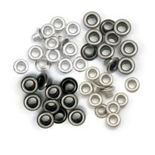 Набор люверсов Cool Metal Standard Eyelets, We R Memory Keepers