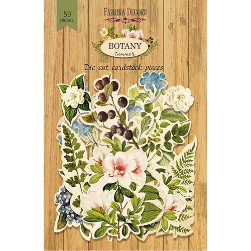 Набор высечек Фабрика Декору Botany summer, 59 шт.