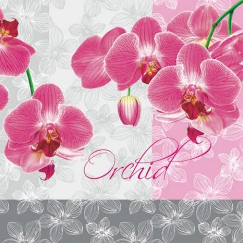 """Салфетка для декупажа """"Орхидея"""", Maki"""