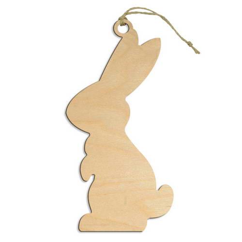 Заготовка из фанеры - Подвеска Кролик 1