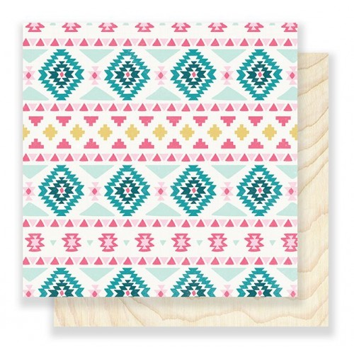 Двусторонний лист бумаги для скрапбукинга Snow & Cocoa - Sweater, 30,5х30,5 см