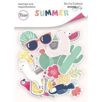 Высечки Scrapmir - Summer, 51 шт.