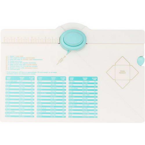 Доска для изготовления конвертов от We R Memory Keepers - Envelope Punch Board в новом дизайне