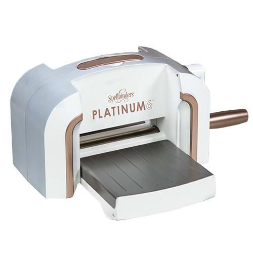 Машинка для вырубки и тиснения Platinum 6, Spellbinders