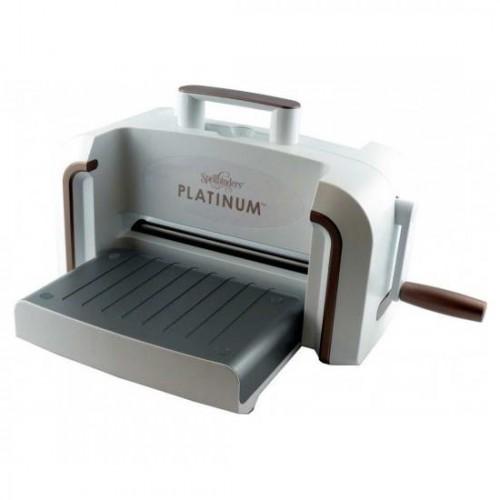Машинка для вырубки и тиснения Platinum, Spellbinders, ширина платформы 21,6 см