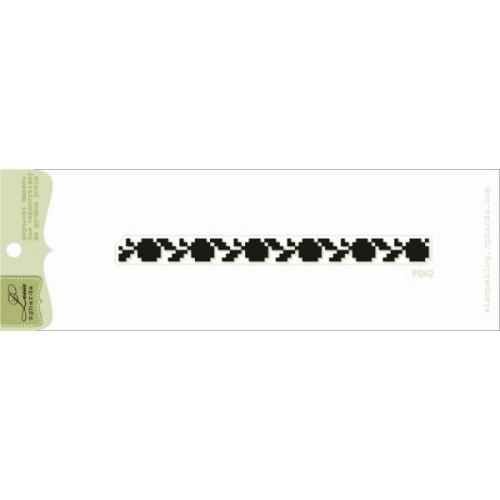 Акриловый штамп Вышиванка от Lesia Zgharda