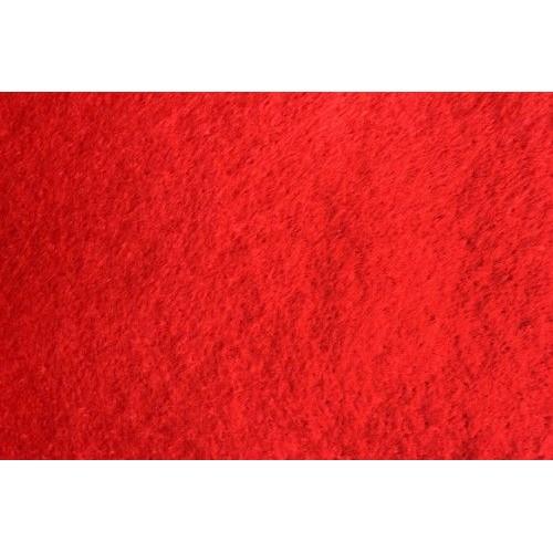 Фетр клеевой красный, 20х30 см