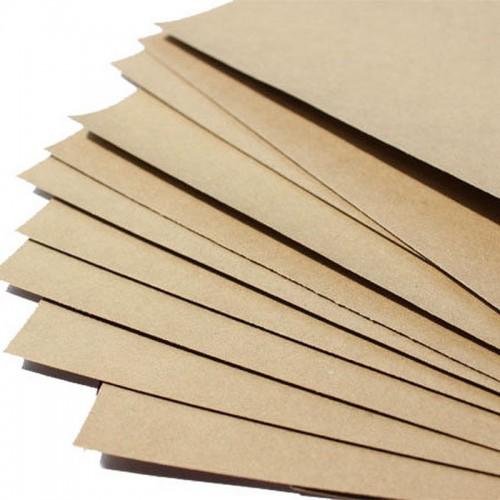 Крафт картон листовой 30х30 см, 400 г/м2, фото