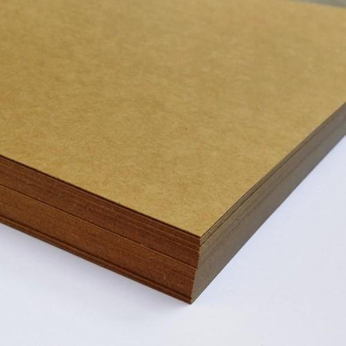 Крафт картон 1,3 мм, 20*20 см фото