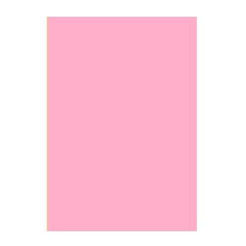 Двусторонний цветной картон Розовый 180 г/м2 А4 фото
