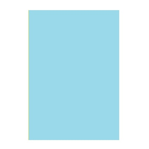 Двусторонний цветной картон Голубой 180 г/м2 А4 фото