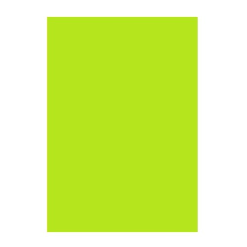 Двусторонний цветной картон Салатовый 180 г/м2 А4 фото