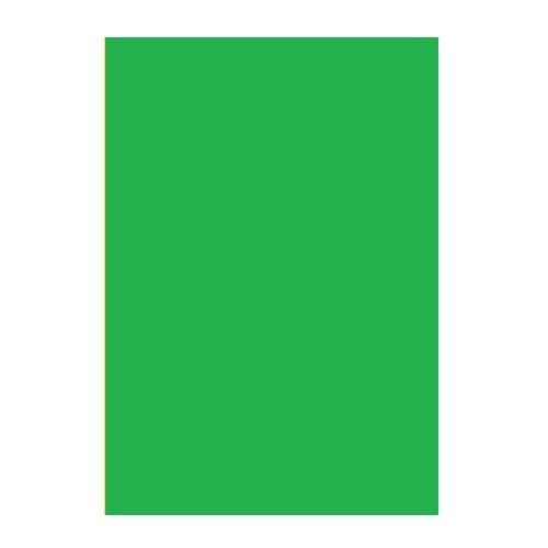 Двусторонний цветной картон. А4, 180 г/м2, зеленый