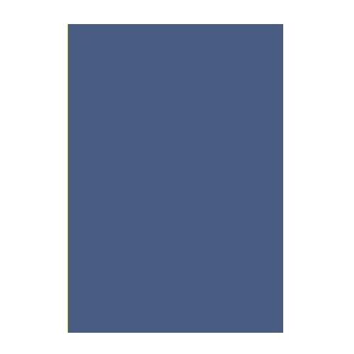 Двусторонний цветной картон Темно-синий 180 г/м2 А4 фото