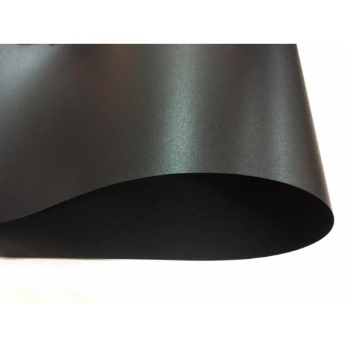 Картон перламутровый Черный 250 г/м2, А4