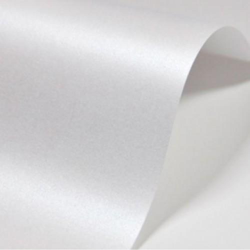 Перламутровый картон Белый А4 фото