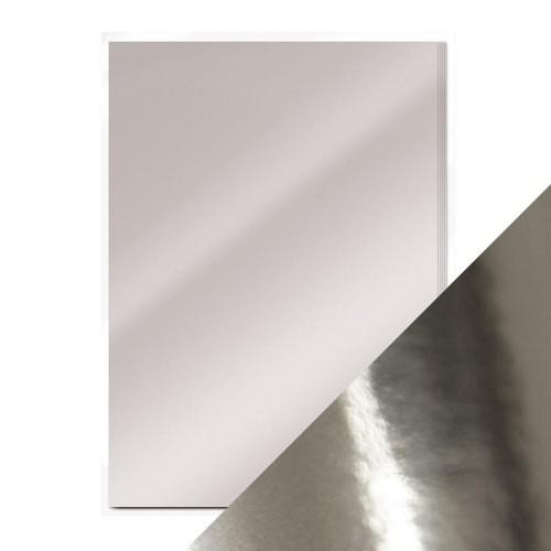 Зеркальный картон Серебро Tonic Studios фото