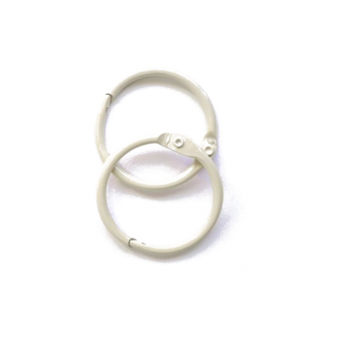Набор колец  для переплета Слоновая кость 20 мм Scrapberry's фото