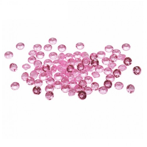 Кристаллы Розовые 4,5 мм, 100 шт