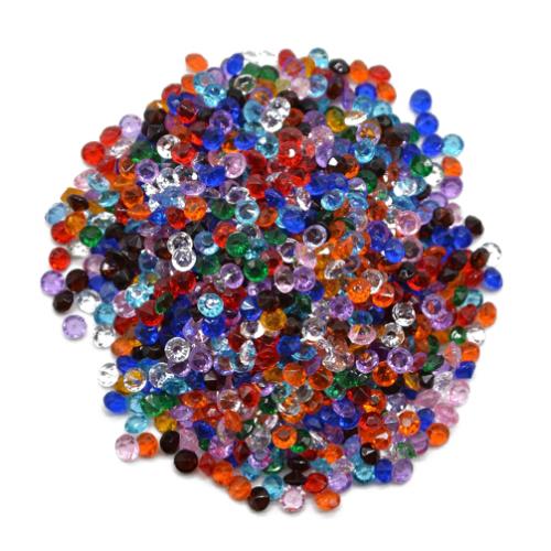 Кристаллы Ассорти 4,5 мм, 100 шт