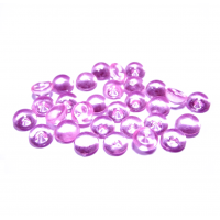 Капельки Розовые 6 мм, 10 шт