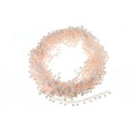 Тесьма с помпонами Светло-розовая, 1 м