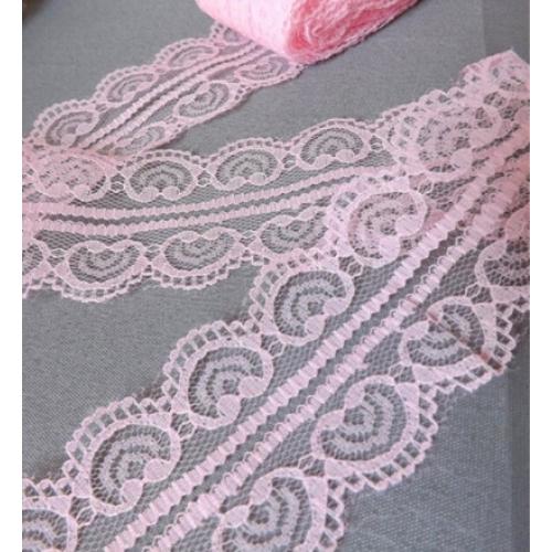Кружево Яблочко розовое фото