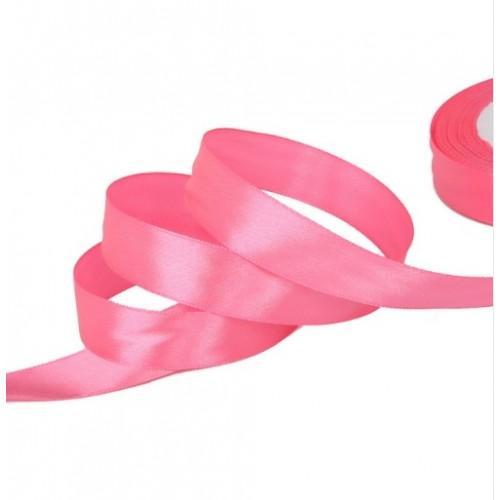 Лента атласная 2,5 см Розовая фото