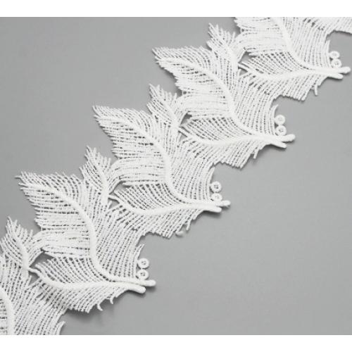 Кружевные  элементы Листья большие, 45 см фото