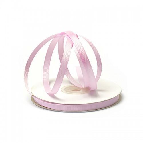 Лента репсовая Розовый холодный 0.6 см, фото