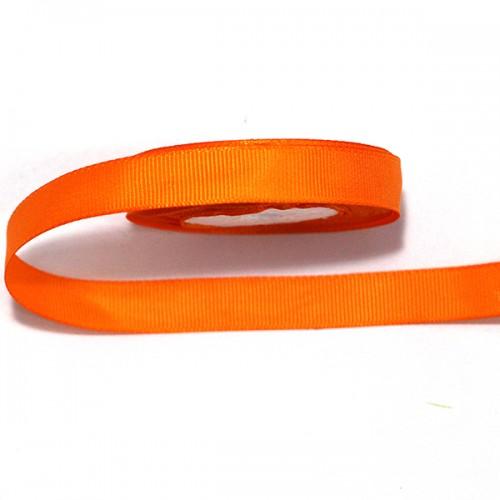 Лента репсовая Оранжевая 0.9 см фото