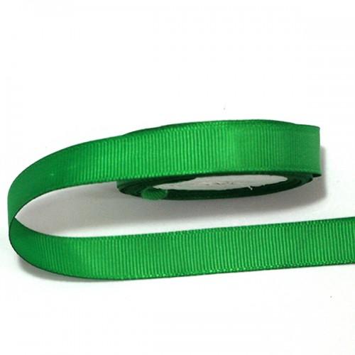 Лента репсовая Зеленая 0.9 см фото