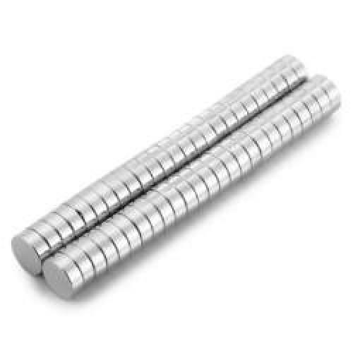 Неодимовый магнит 4x1 мм фото