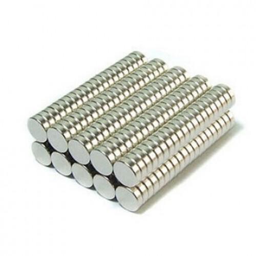 Неодимовый магнит 5x1 мм фото