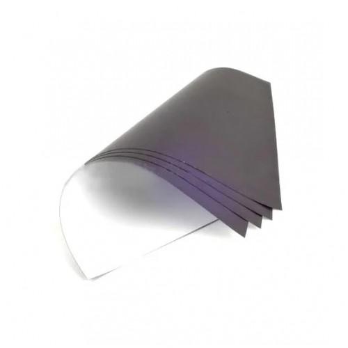 Магнитный винил с клеем в листах. Размер А4 .0.9мм
