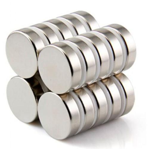 Неодимовый магнит, 10x1.5 мм