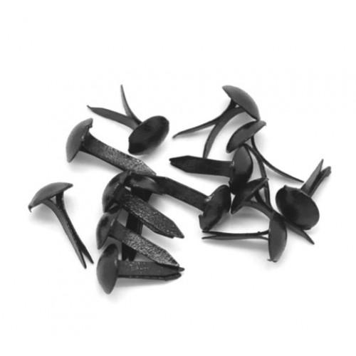 Брадс черный, 8х5 мм