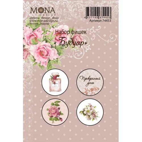 """Фишки для украшения MoNa design """"Будуар"""", 4 шт"""