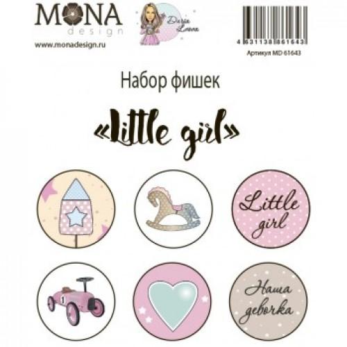 """Фишки для украшения MoNa design """"Little girl"""" фото"""