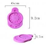 Силиконовый молд Часы, 6х9,2 см