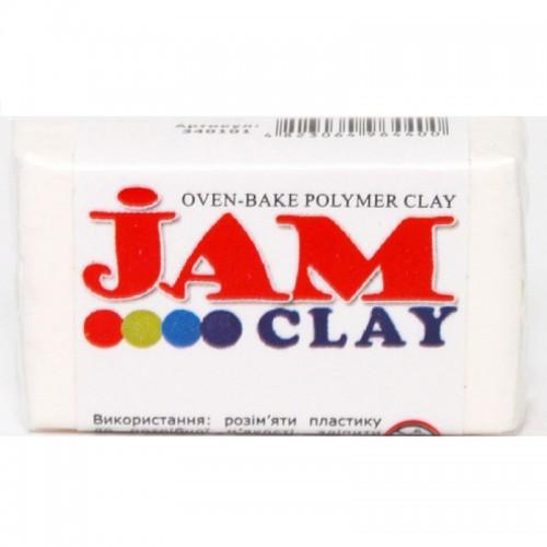 Пластика Jam Clay Зефир (Белый), 20г