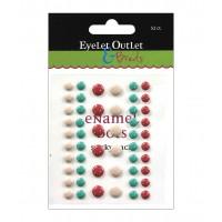 Дотсы разноцветные  Eyelet Outlet, 52 шт