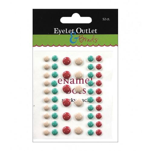 Дотсы разноцветные  Eyelet Outlet фото