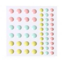 Дотсы разноцветные № 1, 54 шт
