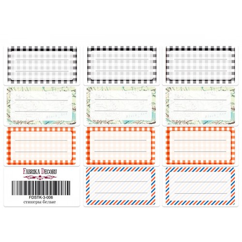 Набор наклеек для журналинга №3-006 Fabrika Decoru