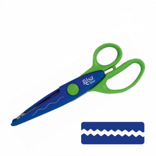 Фигурные ножницы №3. 16,5х6,5 см. ROSA TALENT
