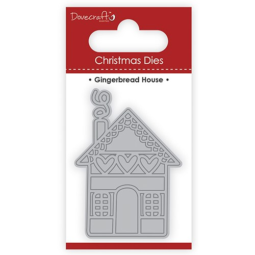 "Нож для вырубки Christmas Dies ""Gingerbread House"" Dovecraft фото"